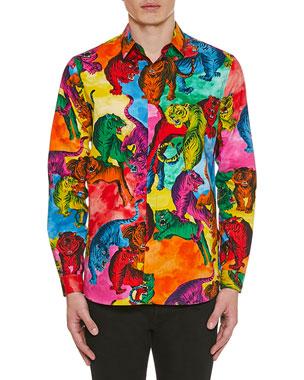 f210da98ad9de Valentino Shirts & Men's Clothing at Neiman Marcus