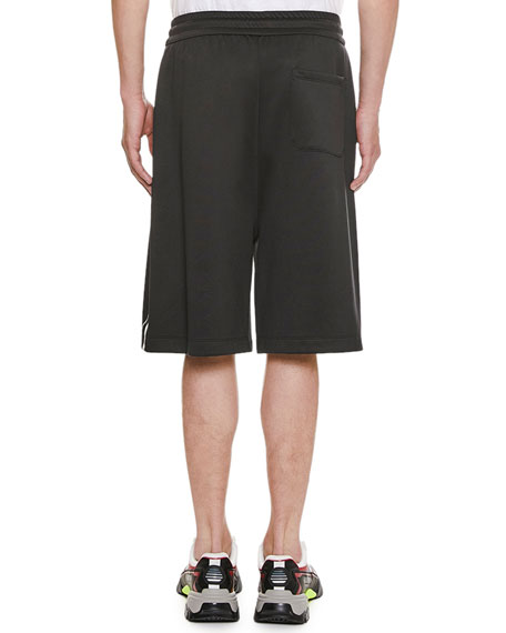 Valentino Men's Logo-Typographic Sport Shorts
