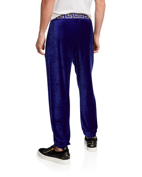 Versace Men's Iconic Tapered Jogger Pants