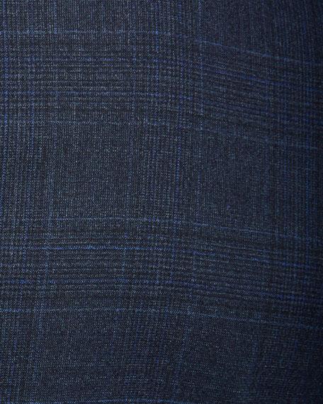 Giorgio Armani Men's Melange Plaid Two-Piece Suit