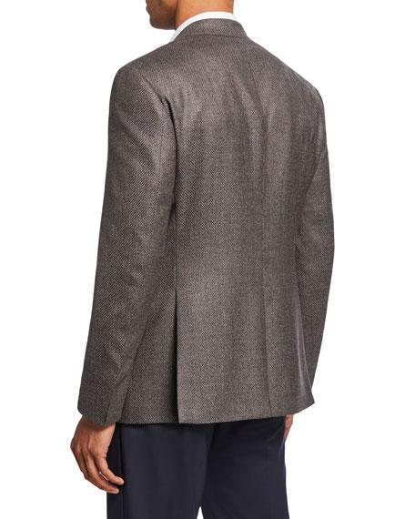 Giorgio Armani Men's Micro-Weave Two-Button Jacket