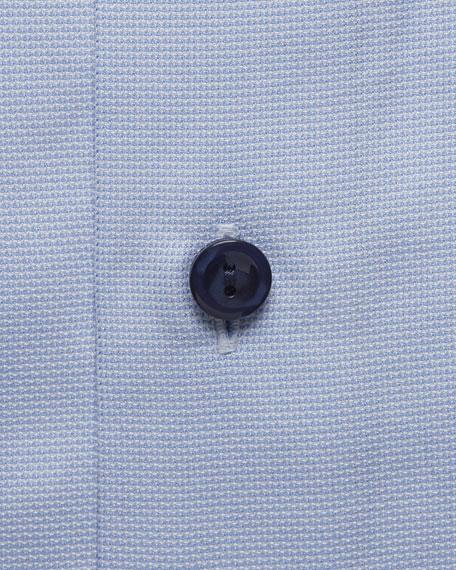 Eton Men's Navy-Button Twill Dress Shirt