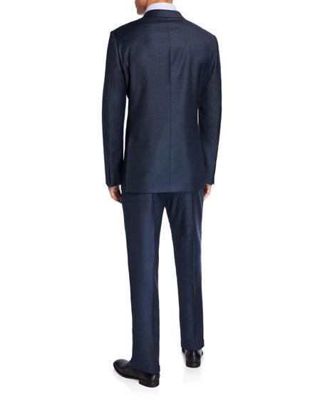 Ermenegildo Zegna Men's Solid Wool-Silk Two-Piece Suit