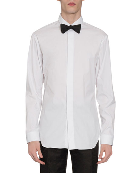 Berluti T-shirts Men's Covered-Placket Sport Shirt