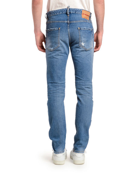 Dsquared2 Men's Cool Guy Clean Slim-Fit Jeans
