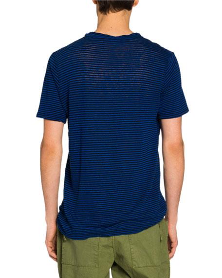Isabel Marant Men's Striped Jersey T-Shirt