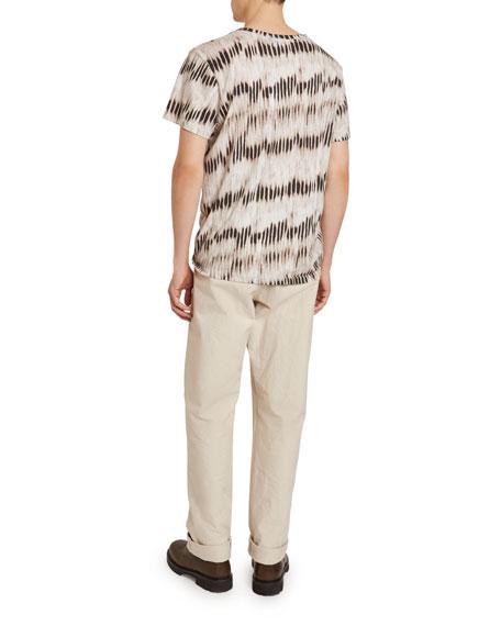 Isabel Marant Men's Waris Ikat Cotton T-Shirt