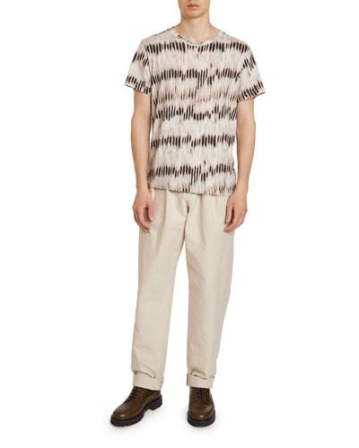 Men's Waris Ikat Cotton T-Shirt