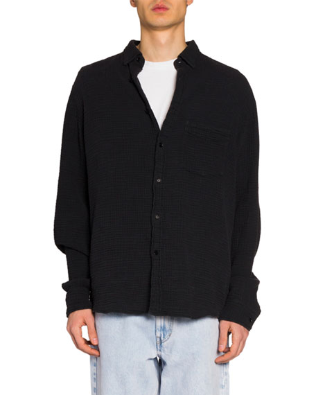 Isabel Marant Men's Gauze Cotton Sport Shirt
