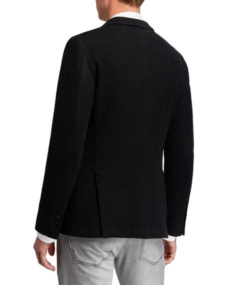Boglioli Men's Jersey Knit Sport Jacket