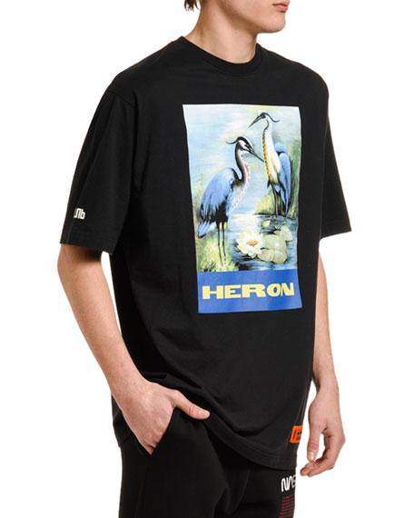 Heron Preston Men's Heron Graphic T-Shirt