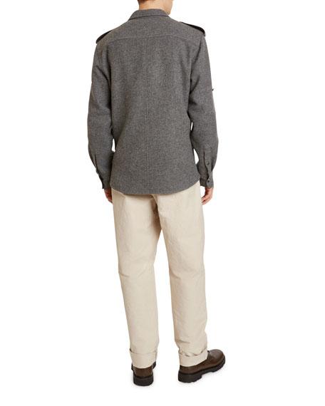 Isabel Marant Men's Wesley Flannel Sport Shirt
