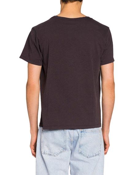 Isabel Marant Men's Paisley Words Graphic T-Shirt