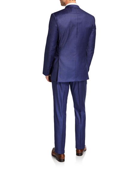 Brioni Men's High-Sheen Solid Two-Piece Suit