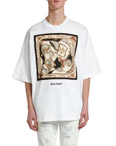 Men's Foulard Oversized Graphic T-Shirt