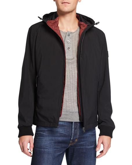 BOSS Men's 2-in-1 Hooded Jacket