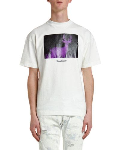 Men's Night Vision Deer T-Shirt
