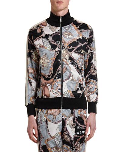 Men's Dark Bridle Track Jacket