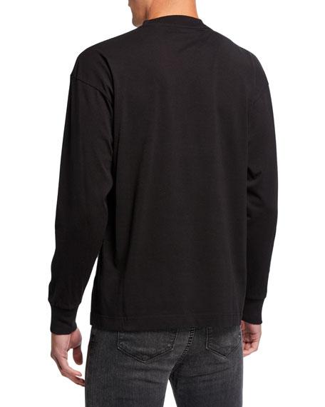 Palm Angels Men's Sensitive Content Graphic Long-Sleeve T-Shirt
