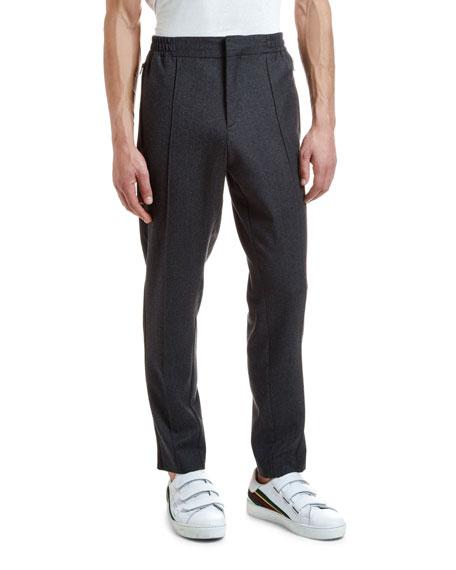 Etro Men's Flannel Jogger Pants