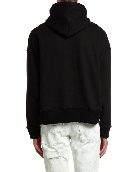 Palm Angels Men's Foulard Graphic Hoodie Sweatshirt