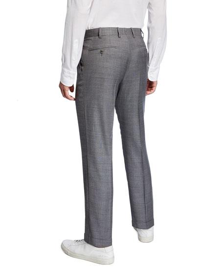 Brioni Men's Light Sharkskin Dress Pants