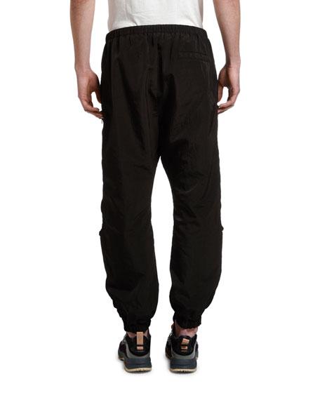 Marcelo Burlon Men's Nylon Cross Pocket Jogger Pants