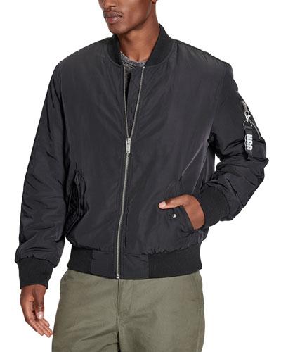 Men's Freddie Water-Resistant Bomber Jacket