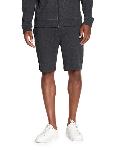 Men's Zavier Speckled Terry Cloth Jogger Shorts