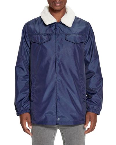 Men's Keagan Nylon Trucker Jacket