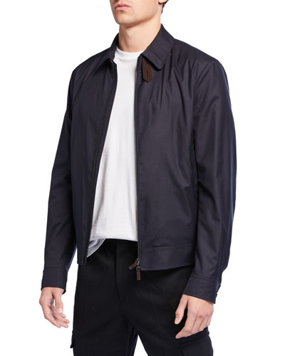 Men's Traveler Zip-Front Jacket