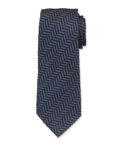 Chevron Silk Tie