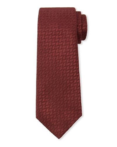 Textured Cotton/Silk Tie