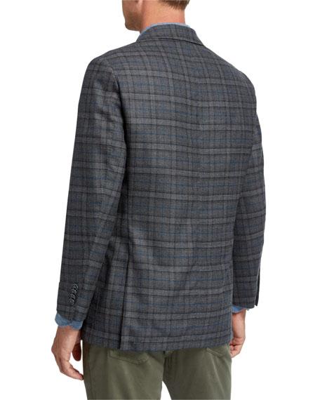 Peter Millar Men's Mini Pane Two-Button Jacket