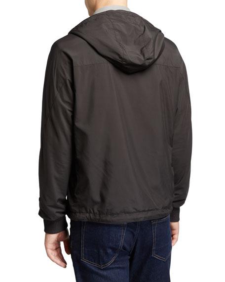 Ermenegildo Zegna Men's Wind Jacket with Cashmere Lining