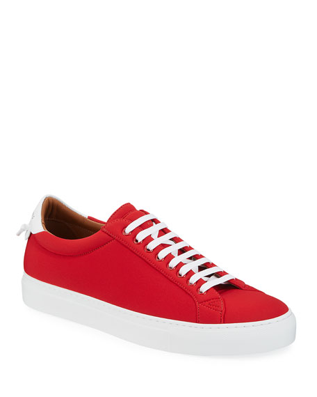 Givenchy Men's Urban Street Spandex Low-Top Sneakers