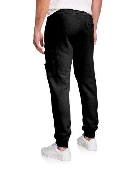 Stone Island Men's Classic Cotton Fleece Sweatpants
