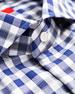 Isaia Men's Large Check Sport Shirt