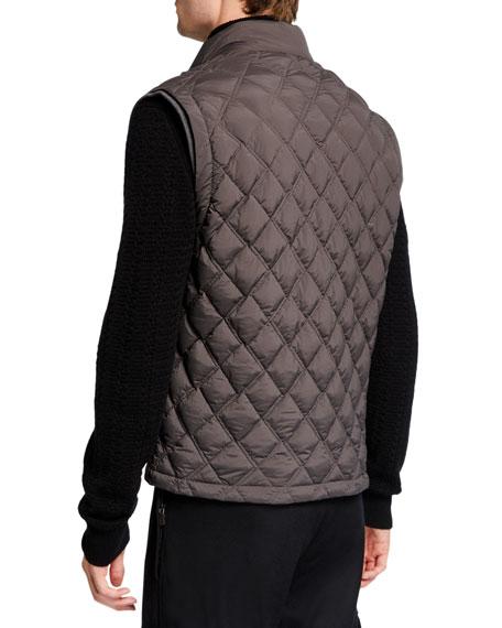 Ermenegildo Zegna Men's Quilted Down Vest