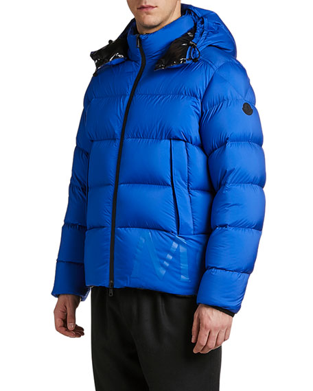 Moncler Men's Wilms Hooded Puffer Coat