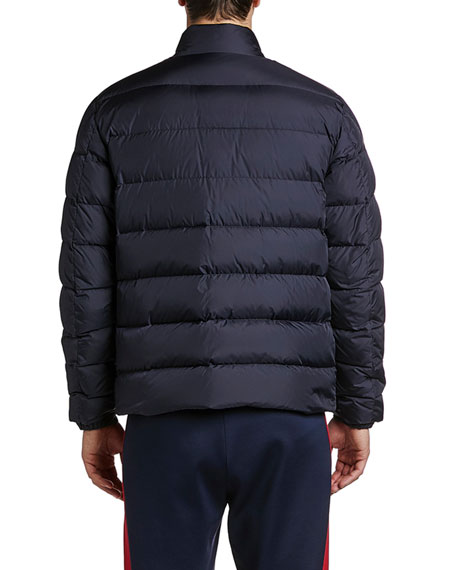 Moncler Men's Servieres Zip-Up Puffer Jacket
