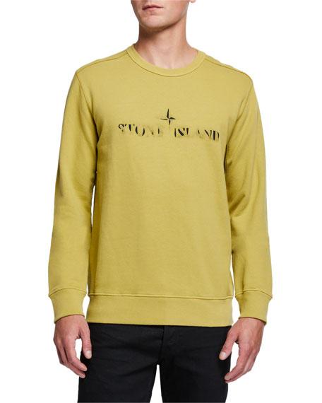 Men's Faded Logo Crewneck Sweatshirt