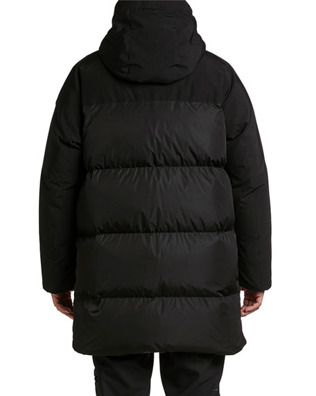 Moncler Men's Forster Hooded Parka Coat