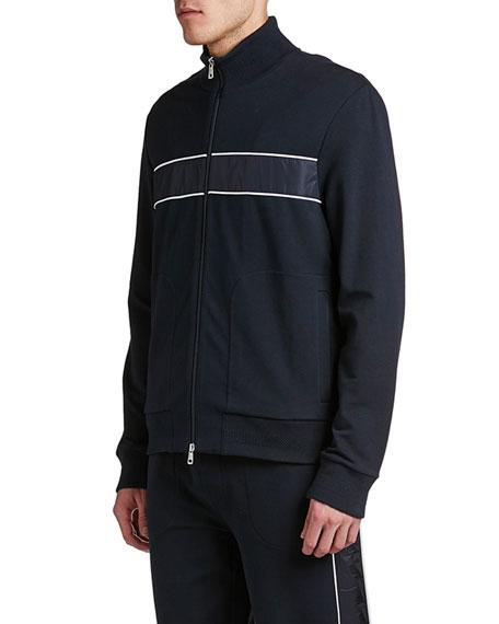 Moncler Men's Stripe Zip-Up Track Jacket