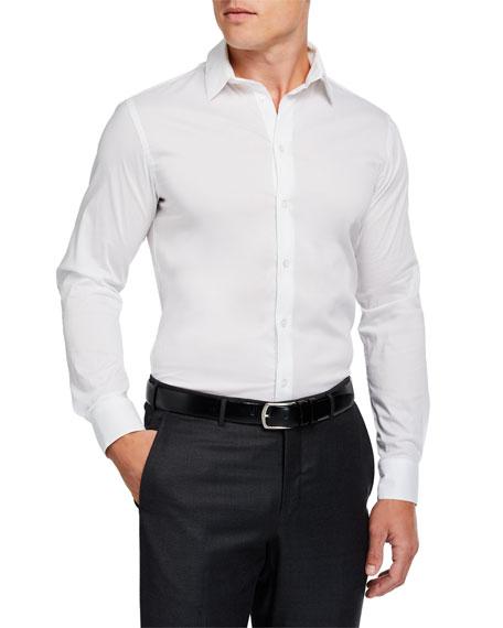 Giorgio Armani Men's Basic Sport Shirt, White