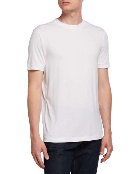 Image 1 of 2: Giorgio Armani Men's Crewneck T-Shirt