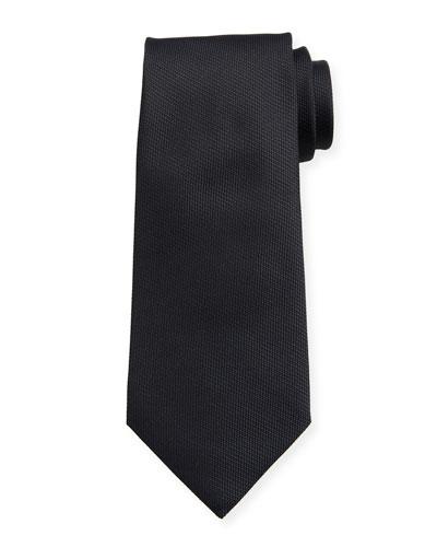 Men's Solid Silk-Blend Tie
