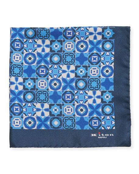Kiton Accessories Men's Silk Multi-Shape Pocket Square