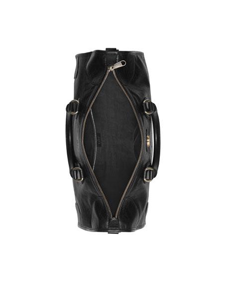 Gucci Men's Medium Leather Weekender Bag