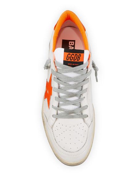 Golden Goose Men's Ball Star Leather Sneakers
